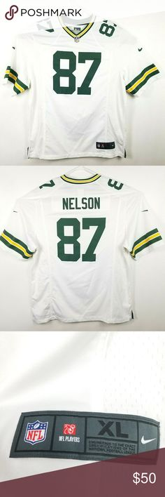 0726a923d3 Greenbay Packers Jordy Nelson #87 Nike Jersey XL Nike On Field Greenbay Packers  Jordy Nelson