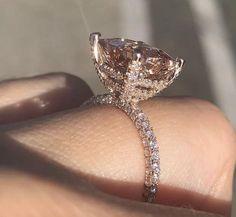 Wedding Ring Images, Wedding Ring Bands, Wedding Ideas, Party Wedding, Dream Wedding, Alternative Wedding Rings, Thing 1, Rose Gold Engagement Ring, Cubic Zirconia Engagement Rings