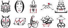 BaskerJAP   Japanese Picture Font