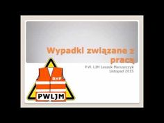 Rodzaje wypadków związanych z pracą - BHP - P.W. LJM