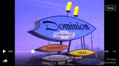 Wow! A goldmine of 1970s? #RVA nostalgia! Wonderful trip down memory lane with this vintage video of Richmond area signs!
