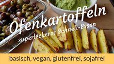 LichtRaum Wettengel: Ofenkartoffeln - einfach, schnell, basisch, vegan,... Pickles, Cucumber, Vegan, Food, Healthy Food, Glutenfree, Simple, Food Food, Pickle