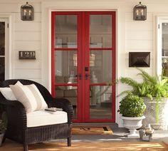 love the red door. #potterybarn