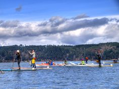 Paddling on the Hood Canal from Alderbrook Resort and Spa