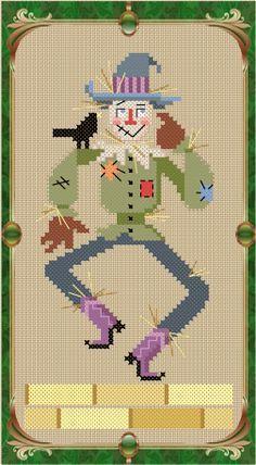 the wizard of oz cross stitch pattern free - Google Search