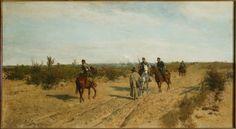 Maksymilian Gierymski, patrol powstańczy 1873
