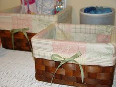 Easy basket liners