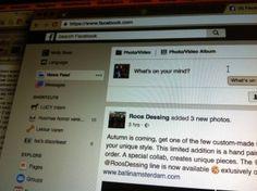 Facebook: Digitale media uiting met social media.