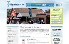 Mapa Comercial de San Isidro - Guía Autogestionable de Comercios con filtros de búsqueda