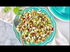 Step by step Chana Salad or Chickpea Salad.How to make Chickpea Salad. Healthy and refreshing chana salad or Chickpeas salad prepared with fresh veggies and tossed in a lemon and olive oil dressing, Easy no -cook summery chickpea salad