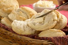 Incredibly light and fluffy, Old Fashioned Buttermilk Biscuits will simply melt in your mouth, just like Grandma's biscuits always did!
