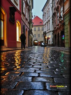 The streets of old Prague by Aleksei Mikhailov on 500px