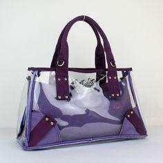 Bárbara Tany: A moda das bolsas transparentes!