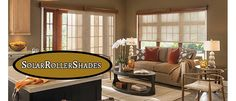 #SolarShades #RollerShades #PanelTracksShades #CordlessShades #BlackoutShades  The Magic Weaves of Solar Shades By Phifer - http://www.zebrablinds.com/blog/magic-weaves-solar-shades-phifer/
