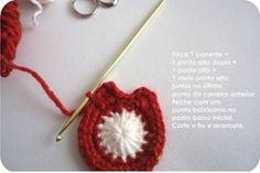 Artesanato com amor...by Lu Guimarães: Corujas em crochê com receita