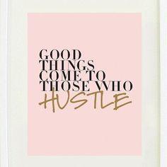 """""""Las cosas buenas llegan a los que trabajan por ellas."""" #goodmorning #letswork #hustle #goodthings #byou #becomplete"""