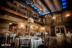 Why Stephanie chose this historical dining room for her wedding reception!