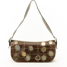 bfdb297484c  Céline medal studded shoulder bag. Available at lxrco.com for  179 Luxury  Bags