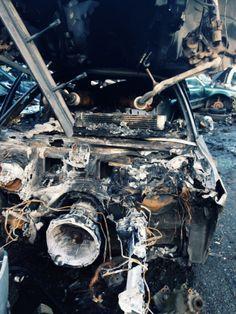 Scrapyard Cars - Burnt