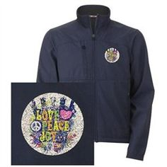 #Artsmith Inc             #ApparelTops              #Men's #Embroidered #Jacket #Love #Peace #Peace #Symbol #Sign                 Men's Embroidered Jacket Love Peace Joy Peace Symbol Sign                                               http://www.snaproduct.com/product.aspx?PID=7267799