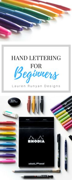 Hand Lettering for Beginners Wordsare powerful. They can provide comfort, hope and encouragement. The power of words is what makes hand lettering such a satisfying art form. It enables you to visually capture the essence of a word or phrase.While drawing and painting have been a part of my life ever since I can remember, …