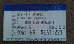 Sheffield Wednesday V Liverpool. Liverpool Football Tickets, Sheffield Wednesday, Champions League, Premier League, Kicks