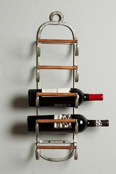 Anthropologie Tack Storage Wine Rack