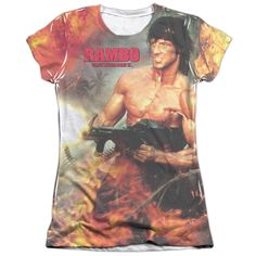 """Checkout our #LicensedGear products FREE SHIPPING + 10% OFF Coupon Code """"Official"""" Rambo:first Blood Ii/become War-s/s Junior Poly/cotton T- Shirt - Rambo:first Blood Ii/become War-s/s Junior Poly/cotton T- Shirt - Price: $24.99. Buy now at https://officiallylicensedgear.com/rambo-first-blood-ii-become-war-s-junior-poly-cotton-shirt-licensed"""