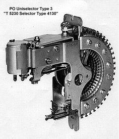 GPO Type 4 Uniselector bank cleaning
