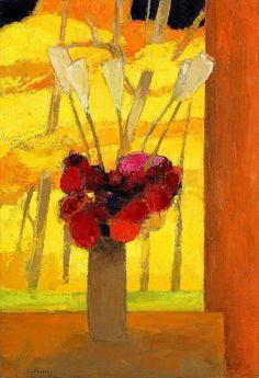 Bernard Cathelin, Bouquet de Fortin de las Flores   painted in 1966, 130.0 x 89.0cm