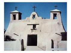 size: Giclee Print: The Franciscan Church at Isleta Pueblo, New Mexico, Built 1612 (Photo) : Artists Travel New Mexico, Church News, Tropical Art, Learn To Paint, Find Art, Framed Artwork, Giclee Print, Mount Rushmore, Around The Worlds