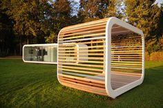 Fertig-Mikrohaus / Modul / Holz / modern PERGOLA Coodo