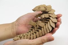 3D Printable Pangolin Set to Raise Awareness of This Endangered Creature #3dprintingprojects