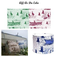 'Aff At Da Eela' which was inspired by local eela competitions (when you go aff in Peerie boats and catch fish) the one time I entered I won the boobie prize and only caught 1 fish haha :)