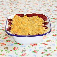 Cakes in the city: Summer crumble - Crumble aux nectarines et fruits ...