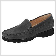 Sioux Pancratia-XL Damen Slipper Größe 38.5 Grau ( asphalt) - Slipper und mokassins für frauen (*Partner-Link)