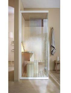 ultracompact sauna Inipi B 120x120cm au sol, EOOS pour Duravit