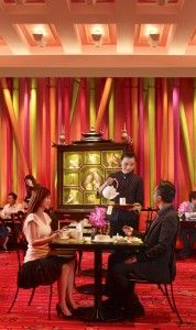 Golden Flower Chinese Restaurant at the Wynn Macau. Click on the following link for more.