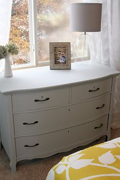 Decorating the Dorchester Way: Paris Grey Dresser Redo