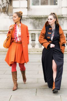 LFW Street Style - Collaboration with José Hendo & Eki Orleans Photo by Bozhidar Chkorev