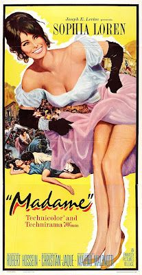 "Sophia Loren in ""Madame"" 13 February 1963 (USA)"