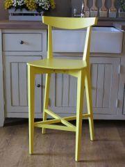 . חותם. כסא בר דגם עדן צהוב