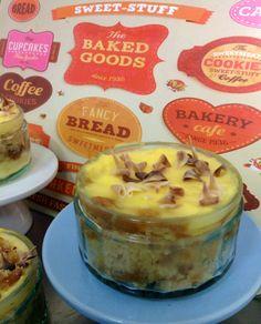Toffee & Fudge Custard Pleasure Pots