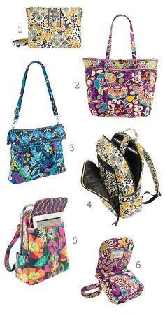 New products and colors from @Vera Bradley  for Spring 2013