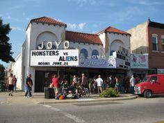 Historic Joyo Theater in Havelock