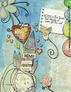 New on Jessica's blog. Art Journaling is her speciality