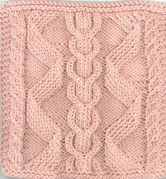 Ravelry: Bavarian Cables by Sara H. Baldwin Strickmuster Bavarian Cables by Sara H. Dishcloth Knitting Patterns, Knitting Stiches, Knit Dishcloth, Crochet Stitches Patterns, Knitting Yarn, Hand Knitting, Stitch Patterns, Knitted Washcloths, Knit Stitches