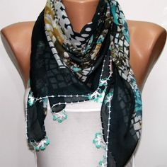 Turkish Anatolians Scarf - by fatwoman, $21.00