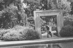 Engagement Shoot Dallas Arboretum | Reflection Pond | DFW Engagement Photographer