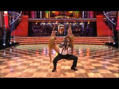 Doanald Driver's Week 8 Jive Threesome on Dancing With the Stars